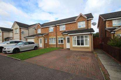 4 Bedrooms Semi Detached House for sale in Kirkwood Place, Coatbridge, North Lanarkshire