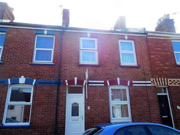 2 Bedrooms Terraced House for sale in Radford Road, Exeter