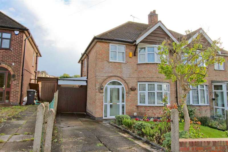 3 Bedrooms Semi Detached House for sale in Ethel Road, Leicester