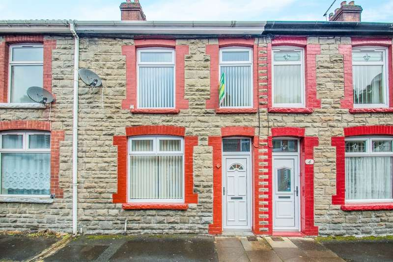 2 Bedrooms Terraced House for sale in Partridge Road, Llanhilleth, Abertillery