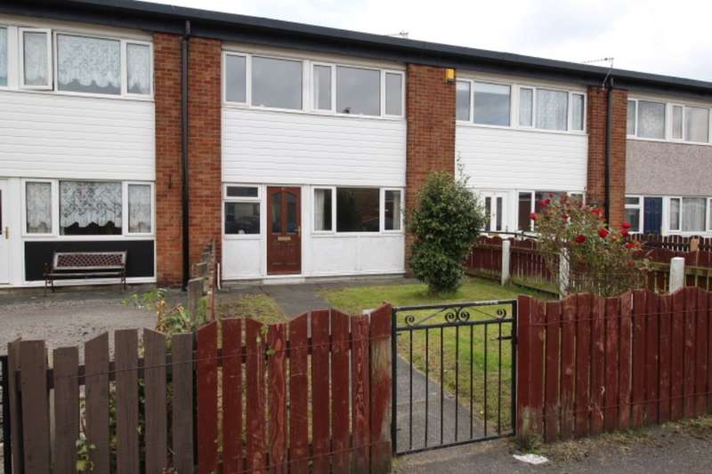 3 Bedrooms Terraced House for sale in Grenfell Close, Wigan, WN3