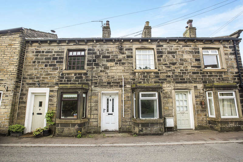 2 Bedrooms Terraced House for sale in Towngate, Midgley,Luddendenfoot, Halifax, HX2