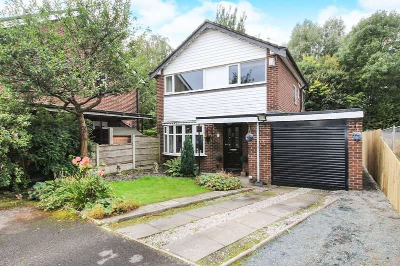 3 Bedrooms Detached House for sale in Plane Tree Close, Marple, Stockport, SK6