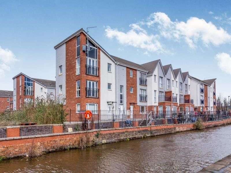 2 Bedrooms Flat for sale in Lock Keepers Way, Stoke-On-Trent, ST1