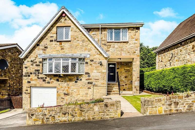 4 Bedrooms Detached House for sale in Bankfield Park Avenue, Taylor Hill, Huddersfield, HD4
