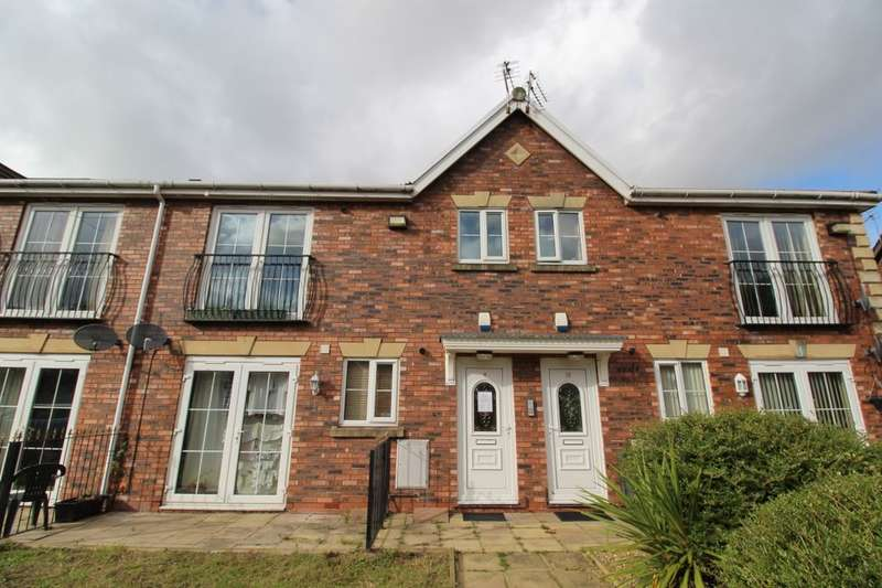 2 Bedrooms Flat for sale in Grosvenor Court, Prescot, L34