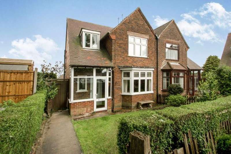 3 Bedrooms Semi Detached House for sale in Grenvoir Drive, Ripley, DE5