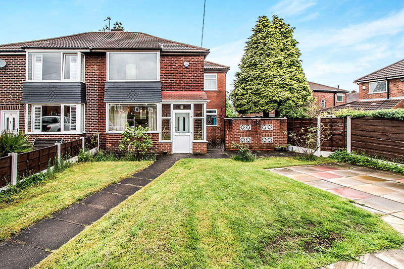 3 Bedrooms Semi Detached House for sale in Louvaine Close, Abbey Hey, Manchester, M18