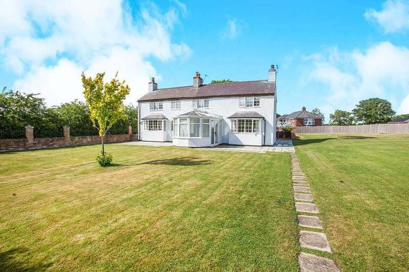 5 Bedrooms Detached House for sale in Eastwood House Greaves Lane, Threapwood, Malpas, SY14