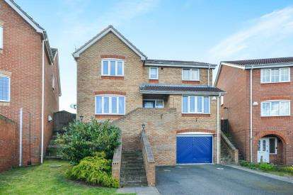 4 Bedrooms Detached House for sale in Halstead Close, Forest Town, Mansfield, Nottinghamshire