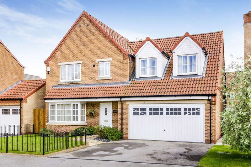 4 Bedrooms Detached House for sale in Ash Way, SELBY, YO8