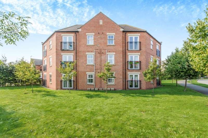 1 Bedroom Flat for sale in Larch Road, Selby, YO8