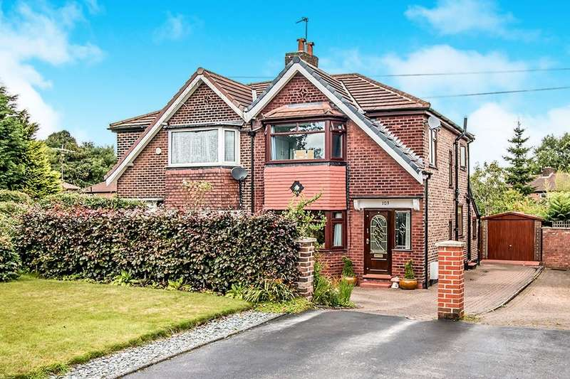3 Bedrooms Semi Detached House for sale in Dane Road, Sale, M33