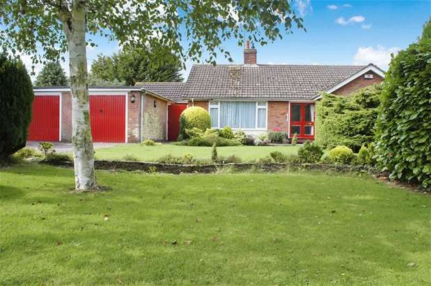 3 Bedrooms Detached Bungalow for sale in Kimbolton Road, Bolnhurst