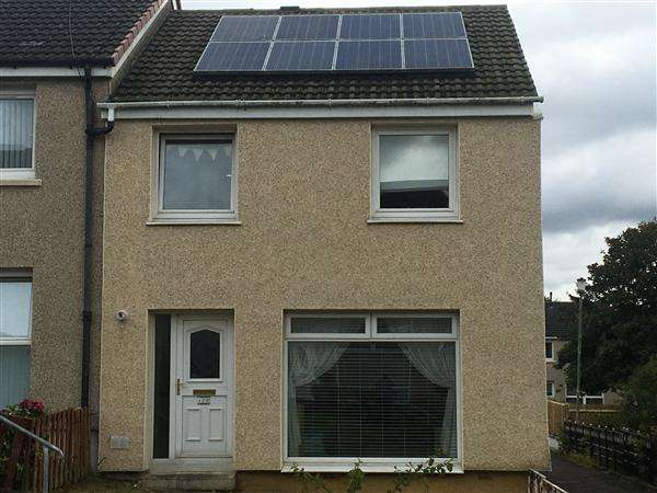 3 Bedrooms End Of Terrace House for sale in Torphin Crescent, Glasgow