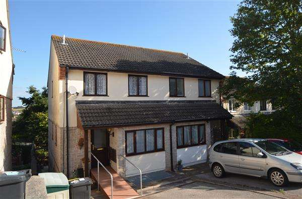 4 Bedrooms Semi Detached House for sale in Cousens Close, Dawlish