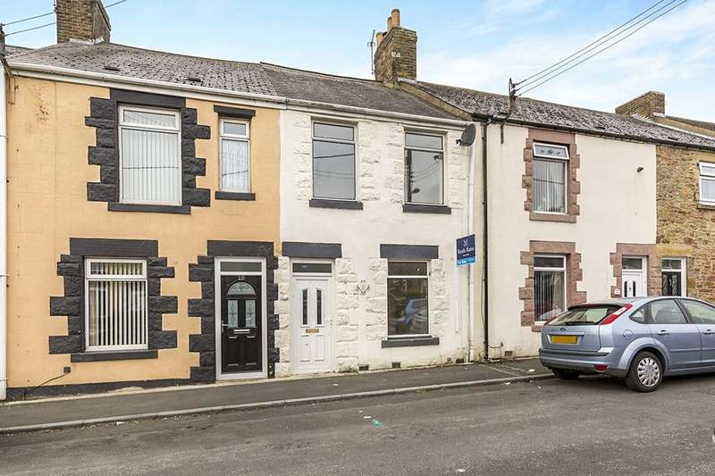 3 Bedrooms Terraced House for sale in Roseberry Terrace, Consett, DH8