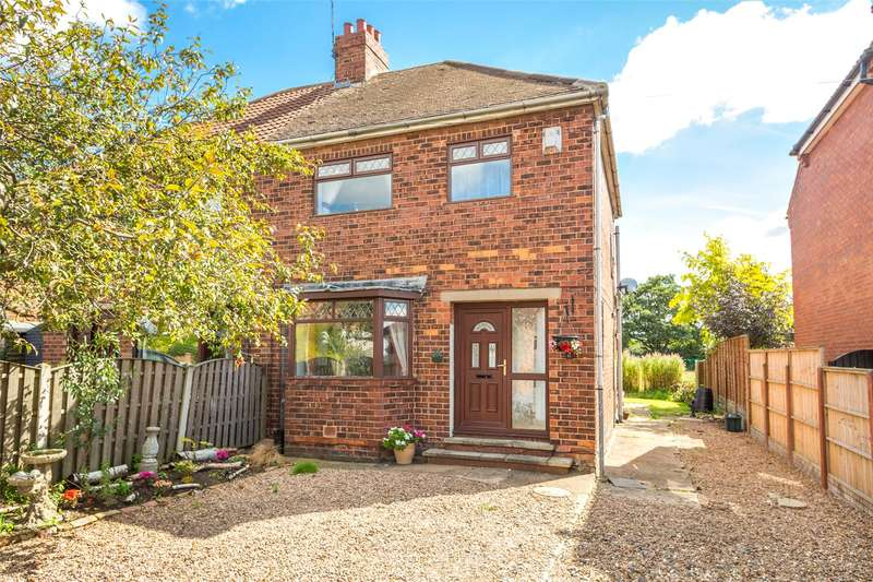3 Bedrooms Semi Detached House for sale in St. Leonards Avenue, Osgodby, Selby, YO8