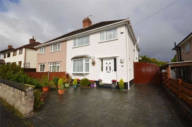 3 Bedrooms Semi Detached House for sale in Heather Bank, Bebington, Merseyside