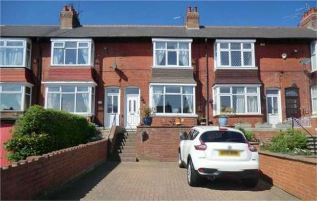 3 Bedrooms Terraced House for sale in Deepdale Road, Loftus, Saltburn-by-the-Sea, North Yorkshire