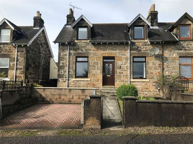 3 Bedrooms Semi Detached House for sale in Glenlossie Road, Thomshill, Elgin