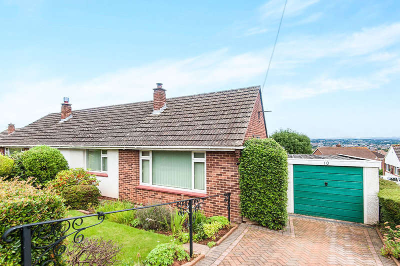 2 Bedrooms Semi Detached Bungalow for sale in Croft Chase, Exeter, EX4