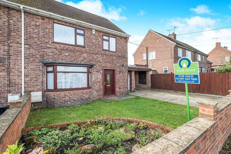 3 Bedrooms Semi Detached House for sale in Walesmoor Avenue, Kiveton Park, S26