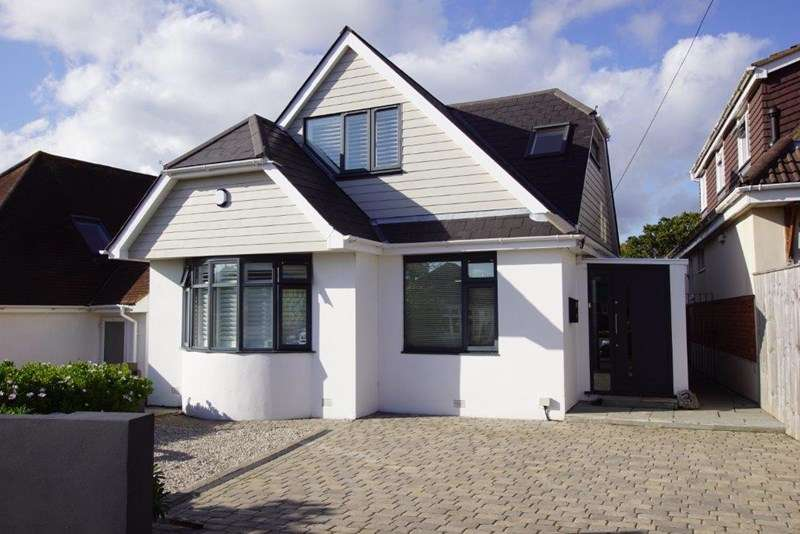 4 Bedrooms Chalet House for sale in Woodstock Road, Whitecliff, Poole