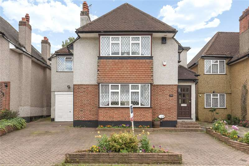 4 Bedrooms Detached House for sale in Mount Pleasant, South Ruislip, Middlesex, HA4