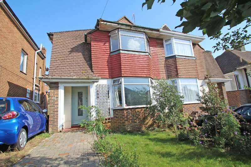 3 Bedrooms Semi Detached House for sale in Fairfield Gardens, Portslade, East Sussex, BN41 2BJ