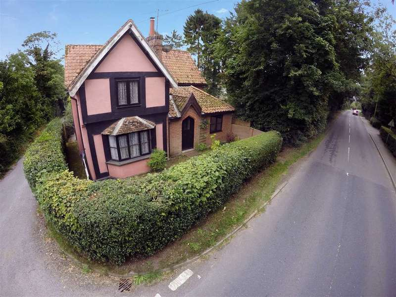 4 Bedrooms Detached House for sale in Church Road, Otley, Ipswich, Suffolk, IP6 9NP
