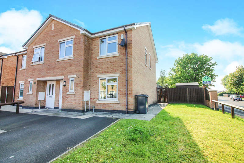 3 Bedrooms Semi Detached House for sale in Prospect Close, Blackburn, BB2