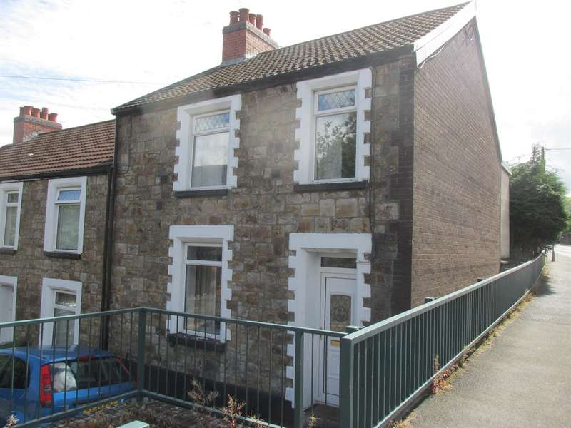 3 Bedrooms End Of Terrace House for sale in Church Street, Pontlottyn, Bargoed