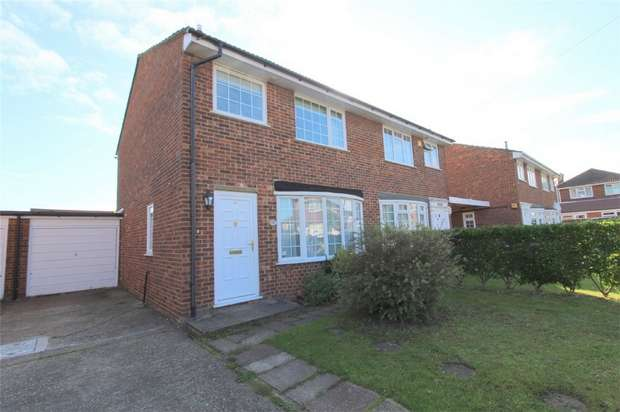 3 Bedrooms Semi Detached House for sale in The Rowans, Sunbury on Thames, Middlesex