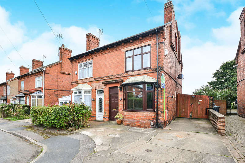 3 Bedrooms Semi Detached House for sale in Fairfield Road, Sutton-In-Ashfield, NG17