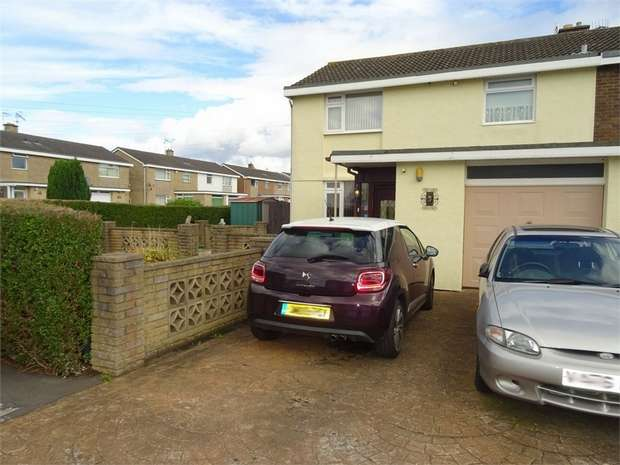 3 Bedrooms Semi Detached House for sale in Rosemeare Gardens, Bristol