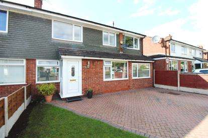 5 Bedrooms Semi Detached House for sale in Malmesbury Road, Cheadle Hulme, Cheadle, Greater Manchester
