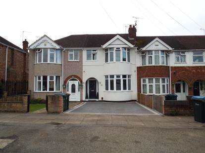 3 Bedrooms Terraced House for sale in Kingsbury Road, Coundon, Coventry, West Midlands