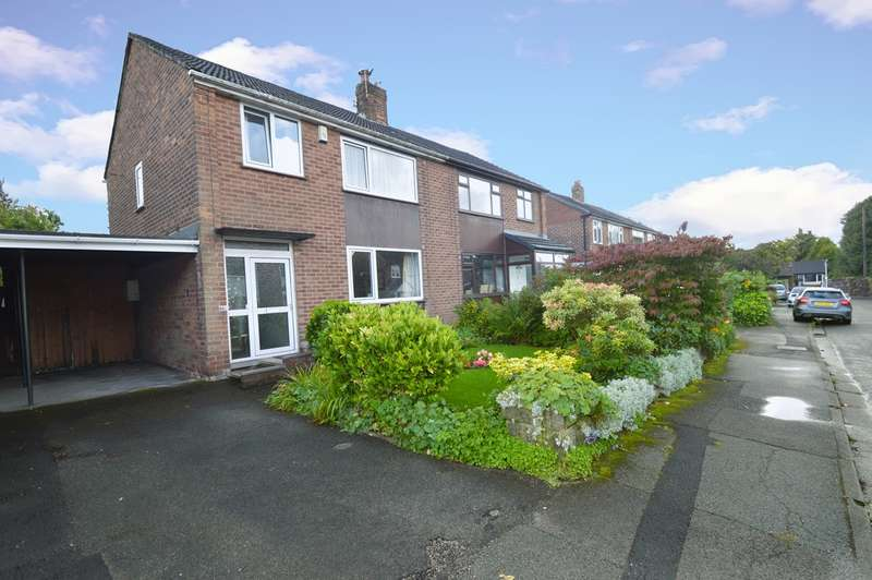 3 Bedrooms Semi Detached House for sale in Wingate Drive, Whitefield, Manchester, M45