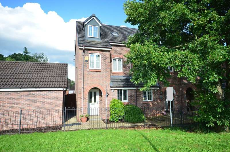 3 Bedrooms Town House for sale in Beacon Rise, Stone, ST15 0AL