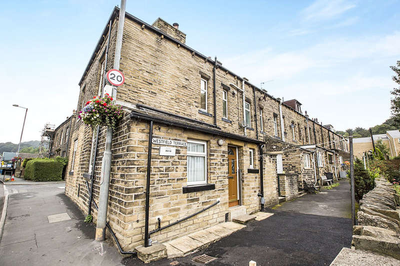 2 Bedrooms Terraced House for sale in Westfield Terrace, Mytholmroyd, Hebden Bridge, HX7
