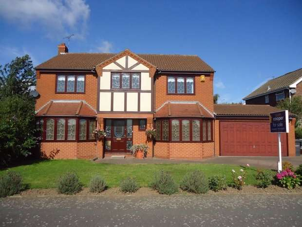4 Bedrooms Detached House for sale in Chetwynd Drive, Whitestone, Nuneaton, Warwickshire