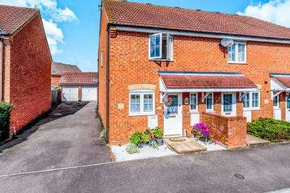 2 Bedrooms End Of Terrace House for sale in The Glebe, Clapham, Bedford, Bedfordshire