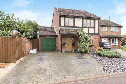 4 Bedrooms Detached House for sale in Armada Close, Churchdown, Gloucester, Gloucestershire
