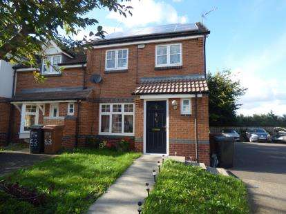 3 Bedrooms End Of Terrace House for sale in Nene Place, Stoneyhurst Mews, Northampton, Northamptonshire