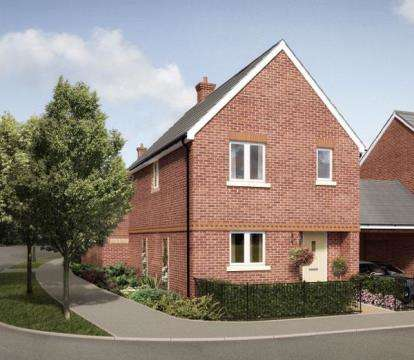 3 Bedrooms Detached House for sale in Kingsfield Park, Aylesbury, Buckinghamshire