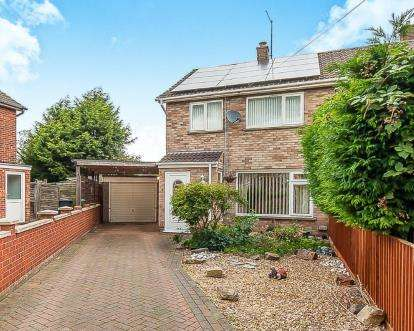 3 Bedrooms Semi Detached House for sale in Glenton Street, Peterborough, Cambs