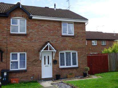 3 Bedrooms End Of Terrace House for sale in Tamworth Drive, Shaw, Swindon, Wiltshire