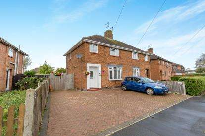 3 Bedrooms Semi Detached House for sale in Bucknill Crescent, Hillmorton, Rugby, Warwickshire