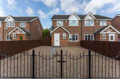 3 Bedrooms Semi Detached House for sale in High Dewley Burn, Throckley, Newcastle, Tyne and Wear, NE15